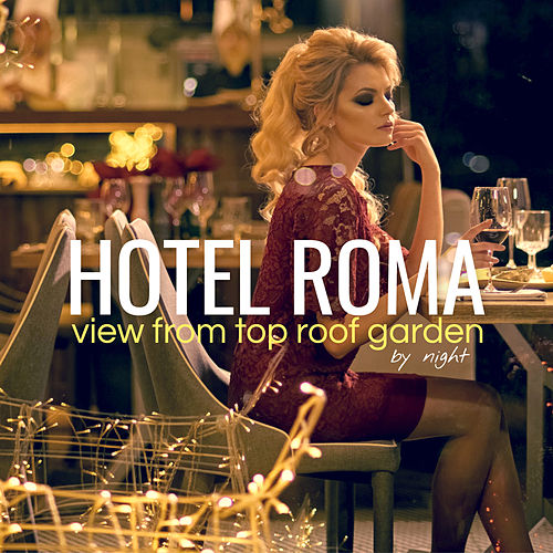 Hotel Roma by Night: View from Top Roof Garden von Various Artists