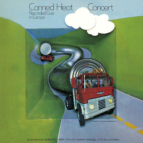 Concert (Recorded Live In Europe) de Canned Heat