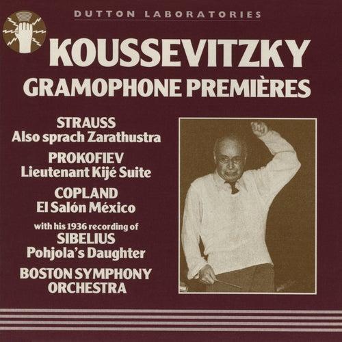 Koussevitzky Gramophone Premieres von Serge Koussevitzky