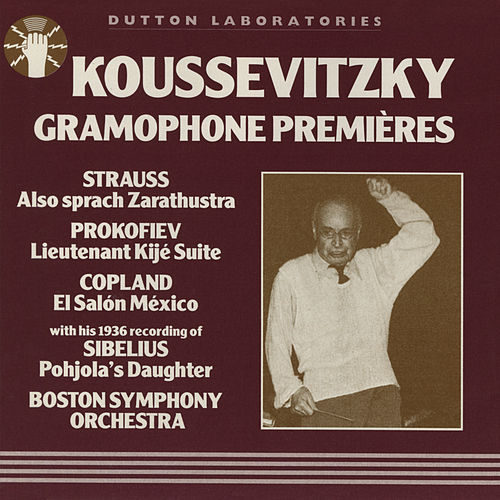 Koussevitzky Gramophone Premieres by Serge Koussevitzky