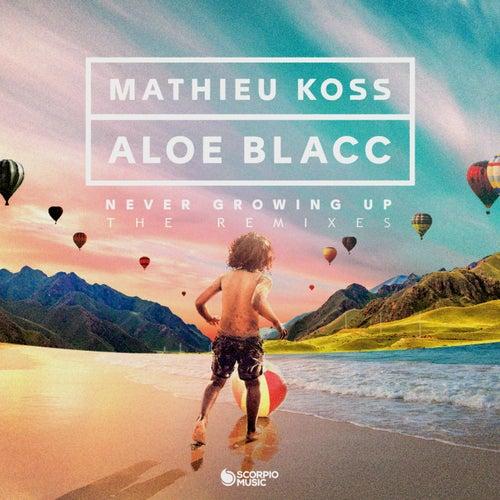 Never Growing Up (The Remixes) von Aloe Blacc Mathieu Koss