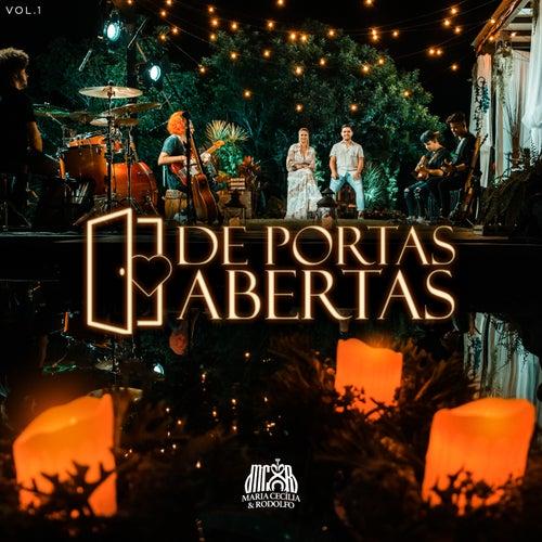 De Portas Abertas, Vol. 1 (Ao Vivo) de Maria Cecília e Rodolfo