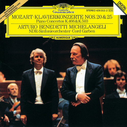 Mozart: Piano Concertos Nos. 20 & 25 by NDR-Sinfonieorchester
