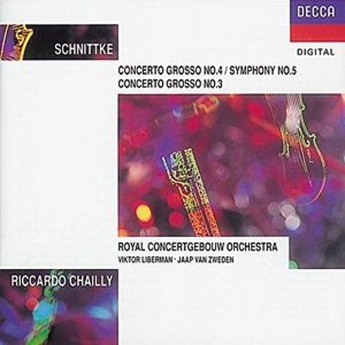 Schnittke: Concerti Grossi Nos.3 & 4. di Riccardo Chailly