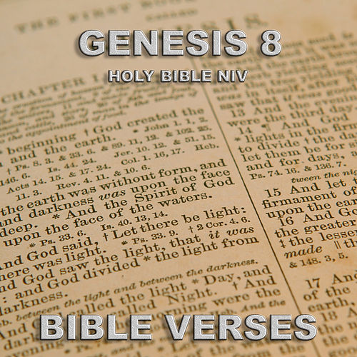 Holy Bible Niv Genesis 8 by Bible Verses