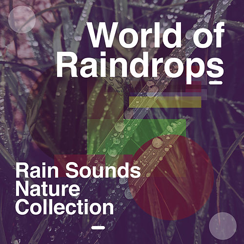 World of Raindrops de Rain Sounds Nature Collection