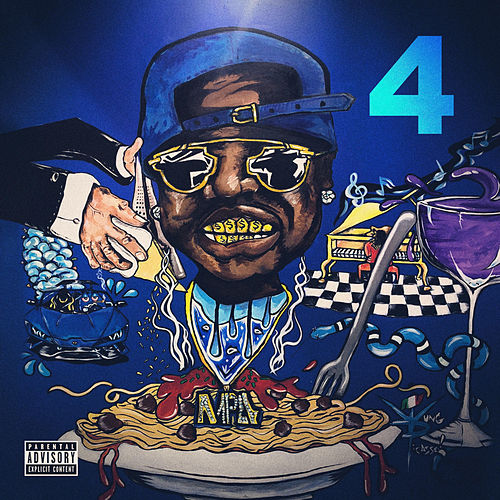 The Blue M&M 4 by PeeWee LongWay