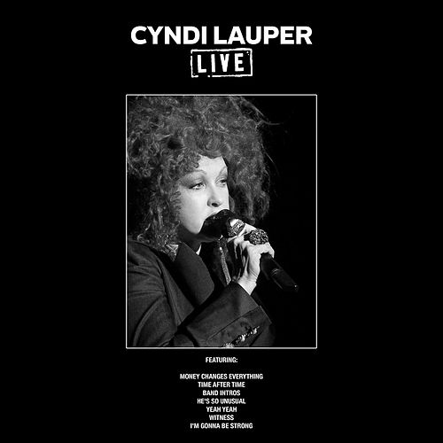Cyndi Lauper Live (Live) de Cyndi Lauper