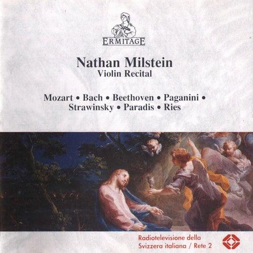 Nathan Milstein - Violin Recital by Nathan Milstein