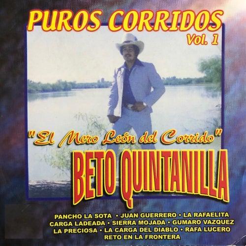 El Mero León del Corrido, Puros Corridos, Vol. 1 de Beto Quintanilla