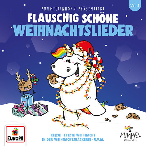 Pummeleinhorn präsentiert flauschig schöne Weihnachtslieder by Lena, Felix & die Kita-Kids