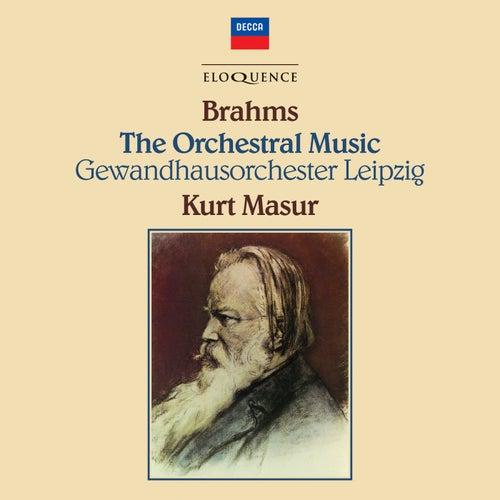 Brahms: Complete Orchestral Works de Kurt Masur