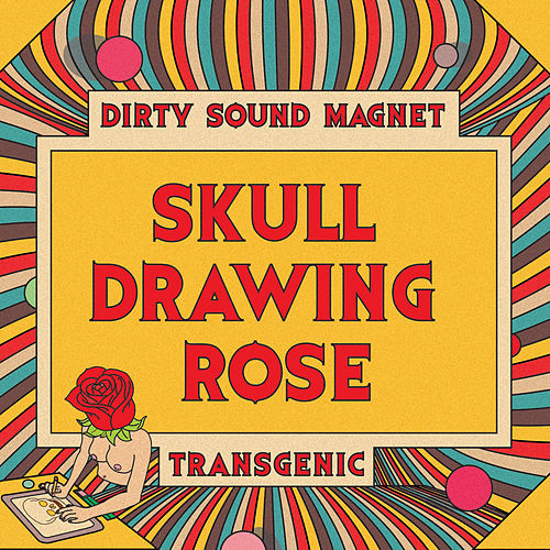 Skull Drawing Rose fra Dirty Sound Magnet