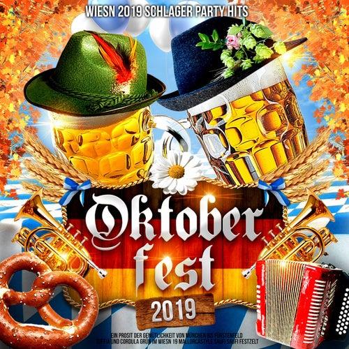 Oktoberfest 2019 - Wiesn 2019 Schlager Party Hits (Ein Prosit der Gemütlichkeit von München bis Fürstenfeld - Suffia & Cordula Grün im Wiesn 19 Mallorcastyle Saufi Saufi Festzelt) von Various Artists