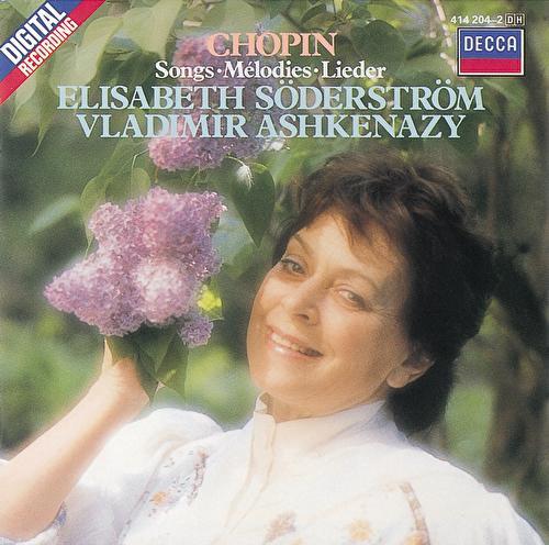 Chopin: Songs von Elisabeth Söderström