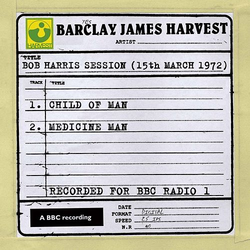 Bob Harris Session (15th March 1972) de Barclay James Harvest