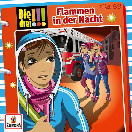 063/Flammen in der Nacht von Die Drei !!!