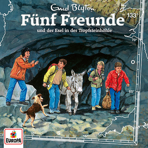133/und der Esel in der Tropfsteinhöhle von Fünf Freunde