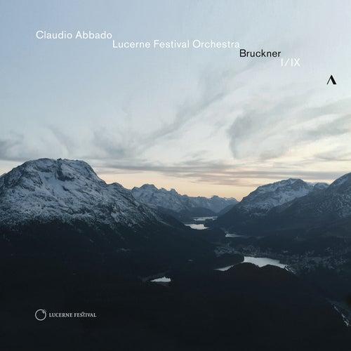 Bruckner: Symphonies Nos. 1 & 9 by Claudio Abbado
