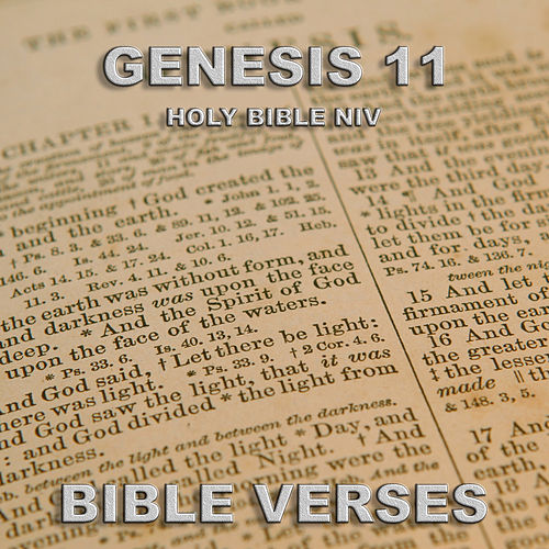Holy Bible Niv Genesis 11 by Bible Verses