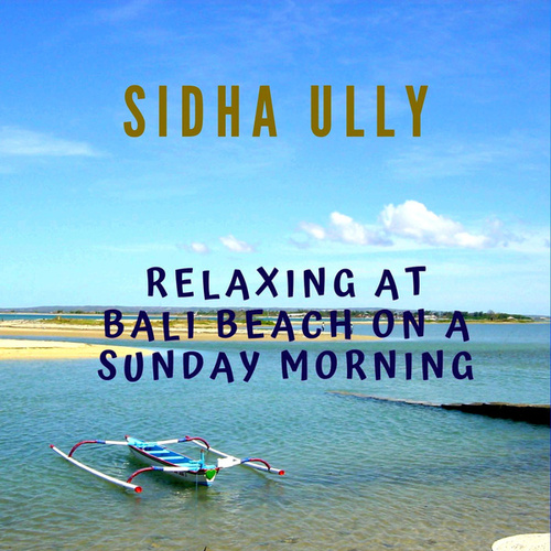 Relaxing At Bali Beach On A Sunday Morning de Sidha Ully