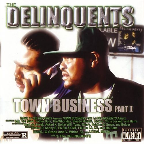 Town Business, Pt. 1 von The Delinquents