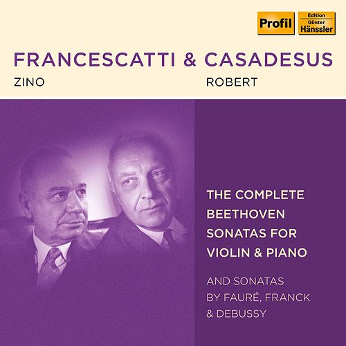 Beethoven, Fauré, Franck & Debussy: Violin Sonatas de Various Artists