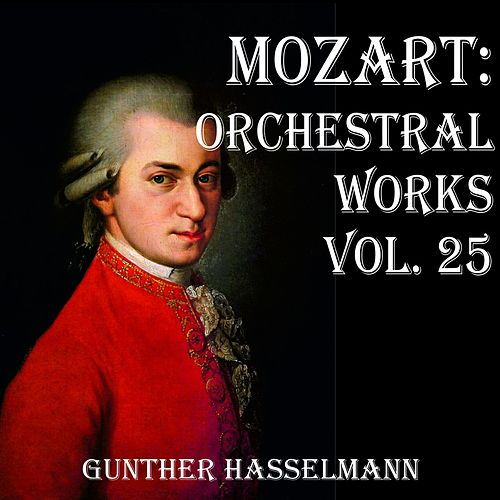 Mozart: Orchestral Works Vol. 25 by Gunther Hasselmann