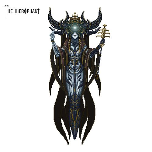 The Hierophant by Mother a Vengeance Awaits