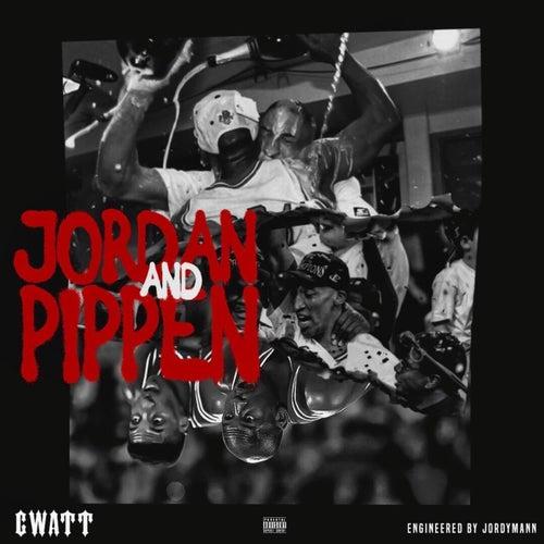 Jordan and Pippen by C-Watt