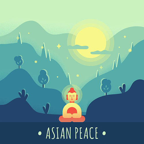 Asian Peace: Oriental Chill Out 2019, Relaxation Sounds, Zen von Chillout Lounge