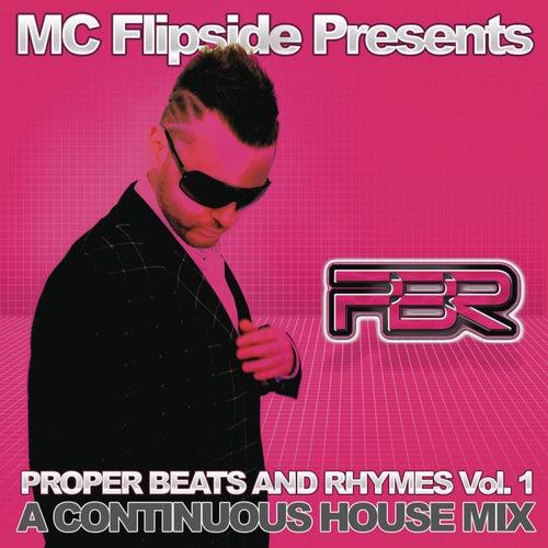 Proper Beats & Rhymes Vol. 1 (Continuous DJ Mix By MC Flipside) de Various Artists