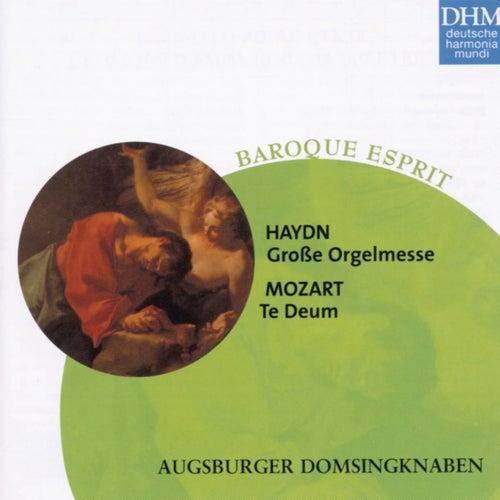 Haydn, Mozart: Grosse Orgelmesse/Te Deum by Augsburger Domsingknaben