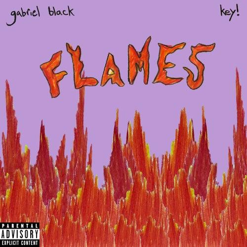 Flames by gabriel black