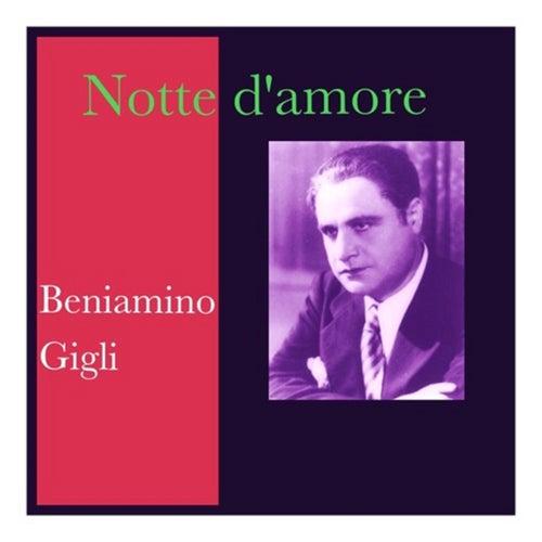 Notte d'amore de Beniamino Gigli