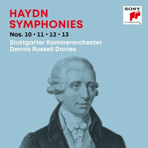 Haydn: Symphonies / Sinfonien Nos. 10, 11, 12, 13 de Dennis Russell Davies