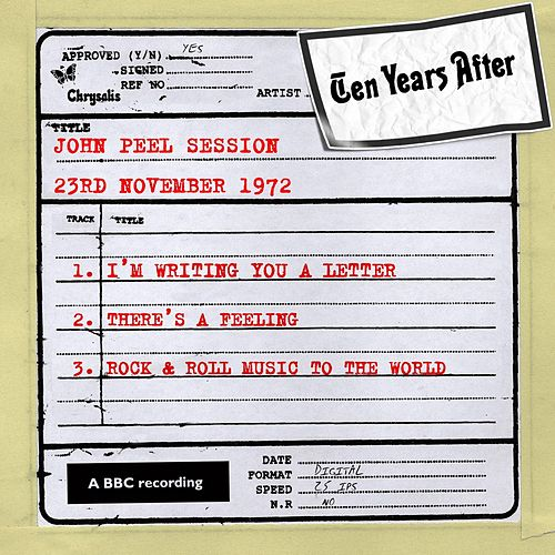 John Peel Session (23rd November 1972) de Ten Years After