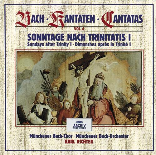 Bach, J.S.: Sundays after Trinity I (Vol. 4) von Münchener Bach-Orchester