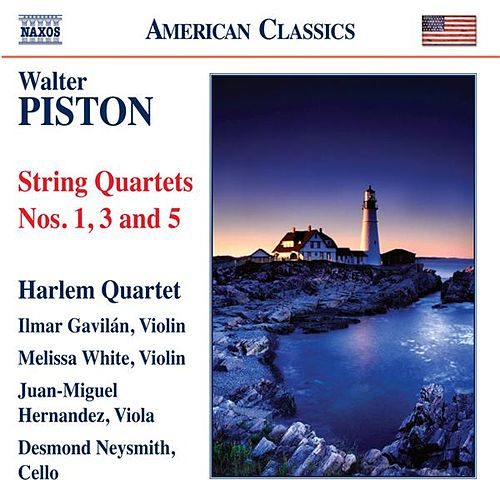 Piston: String Quartets Nos. 1, 3 & 5 by Harlem Quartet