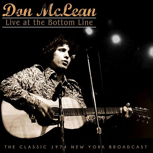 Live at The Bottom Line de Don McLean