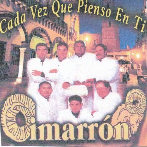 Cada Vez Que Pienzo En Ti by Cimarron
