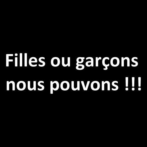 Filles ou garçons nous pouvons!!! by Elèves de l'école Michelet Soissons