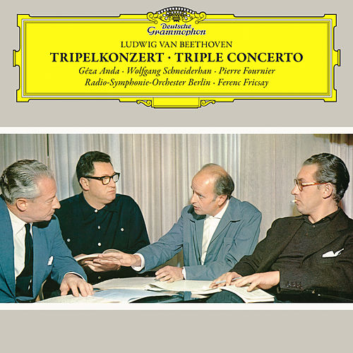 Beethoven: Triple Concerto in C Major, Op. 56 by Géza Anda