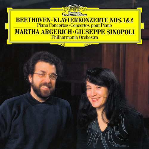 Beethoven: Piano Concertos No.1, Op.15 & No.2, Op.19 by Martha Argerich