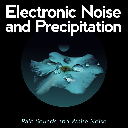 Electronic Noise and Precipitation by Rain Sounds and White Noise