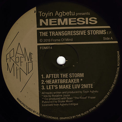 The Transgressive Storms EP by Nemesis