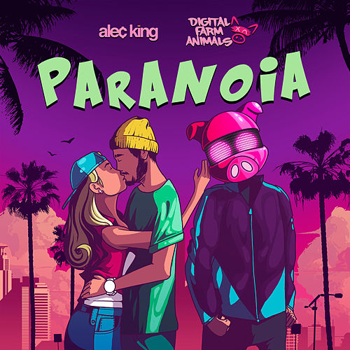Paranoia (feat. Alec King) de Digital Farm Animals
