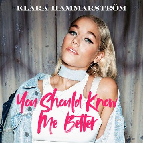 You Should Know Me Better by Klara Hammarström