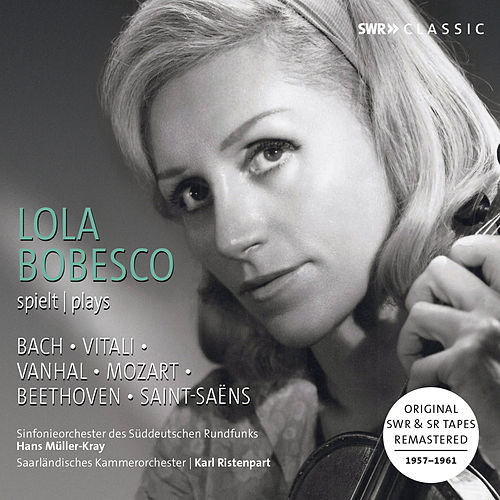 Bach, Mozart, Beethoven & Others: Violin Concertos by Lola Bobesco