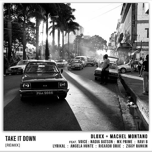 Take It Down (Remix) [feat. Voice, Nadia Batson, MX Prime, Ravi B, Lyrikal, Angela Hunte, Ricardo Drue & Ziggy Rankin] by Dloxx